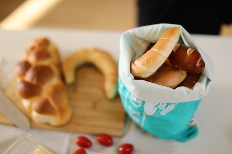 Csatos kenyeres zsák